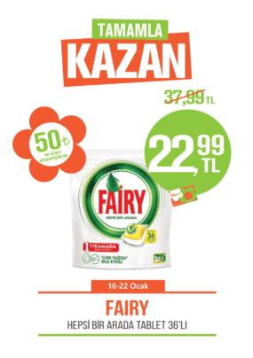 Tamamla Kazan 16-22 ocak